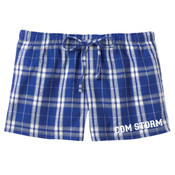 Plaid Pajama Shorts